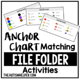 Anchor Chart Matching File Folder Activities