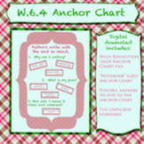 Anchor Chart Pack (includes unpacked standard) for W.6.4