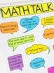 Anchor Chart Pieces for Math Talk Sentence Starters
