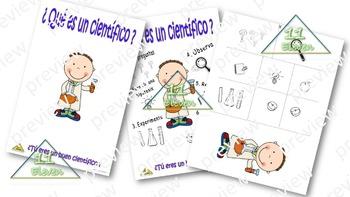 """Anchor Chart """" ¿Que es un cientifico?"""" (Spanish)"""