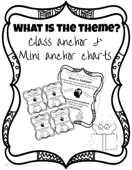 Anchor Chart: Theme with Mini charts