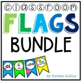 Anchor Chart and Classroom Flags Bundle
