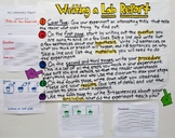 Anchor Chart and Handouts - How to Write a Lab Report with Steps