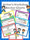 #christmasinjuly Writer's Workshop Anchor Charts