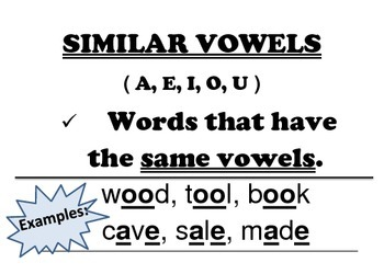 Anchor Chart posters for Classifying Words (9 ways) -with examples
