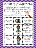 Anchor Chart to teach Making Predictions