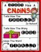 Beginning Middle & Ending Charts for Writing Workshop: First & Kindergarten