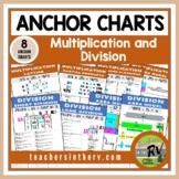 Anchor Charts  |  Cheat Sheet  |  Multiplication & Divisio