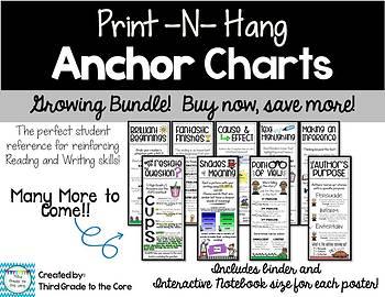 Anchor Charts Growing Bundle