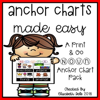 Nouns Anchor Charts Made Easy