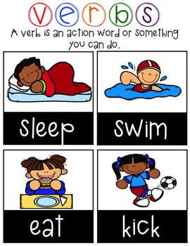 Action Verbs Anchor Charts Made Easy