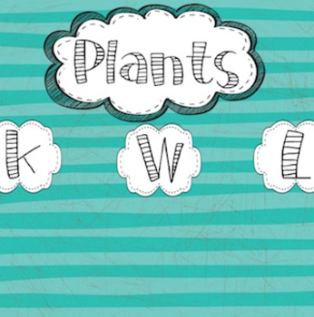 Anchor Charts -- SmartBoard -- PLANTS
