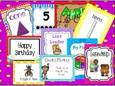 Anchor Charts and Posters  Download. Preschool-Kindergarten.