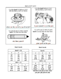 Anchor Charts and Word List for Hard or Soft C and G