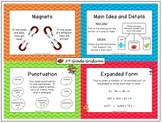 Anchor Charts for 3rd Grade - All Subjects (CCSS Aligned)