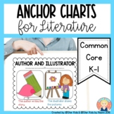 Anchor Charts for Kindergarten {Literature}