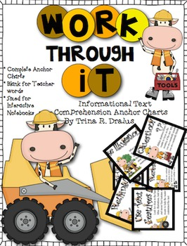 Comprehension Anchor Charts  for Informational Text