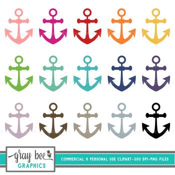 Anchor Clip Art Pack
