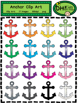 Anchor Clip Art - Personal and Commercial Use