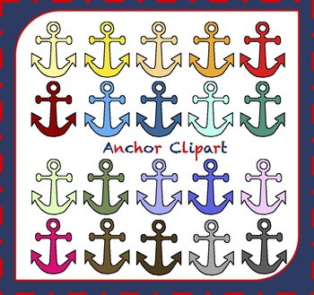 Anchor Clipart / Boat Clipart