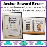 Anchor Reward Binder (Positive Behavior Incentive Program)