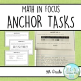 Anchor Tasks for 5th grade Singapore Math (Math in Focus, book A)