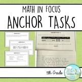 Anchor Tasks for 5th grade Singapore Math (Math in Focus, book A)