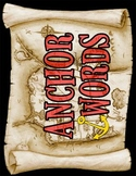Anchor Words Title (Pirate/Nautical Theme)