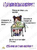 Anchor chart (Spanish) Que hacen los buenos escritores?
