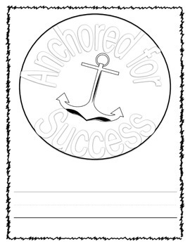 Anchored for Success Back to School Freebie