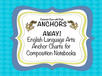 Anchor's Away Anchor Charts