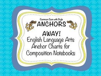 Anchor's Away Anchor Charts