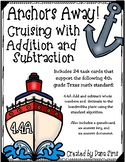 Anchors Away! Cruising with Addition and Subtraction (TEKS 4.4A) STAAR Practice