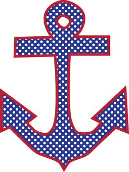Anchors Away! {Freebie! Personal or Commercial Use!}