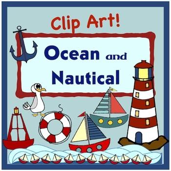 Anchors Away! Nautical and Ocean Clip Art