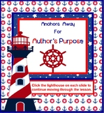 Anchors Away for Author's Purpose