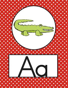 Anchors Aweigh! Alphabet Line and Word Wall Header Set