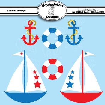 Anchors Aweigh 5 inch