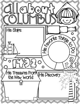 Anchors Aweigh! It's Columbus Day!: A Collection of Activities for Columbus Day
