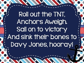 Anchors Aweigh Navy Sing-a-long
