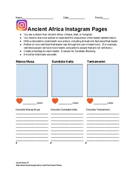 Ancient Africa Instagram Pages