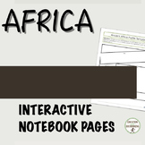 Ancient Africa Graphic organizers plus notes