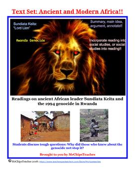 Ancient Africa Text Set