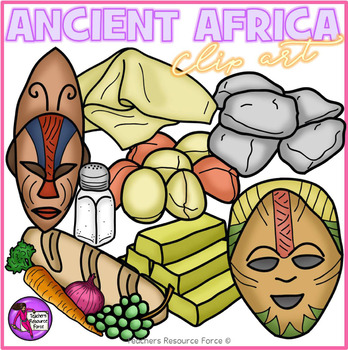 Ancient Africa clip art