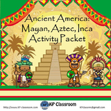 Ancient America and Mayan Aztec Inca Literacy and Math Act