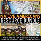 Native Americans Activities Resource Bundle Indigenous Peo