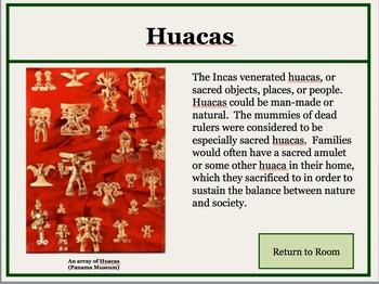 Ancient Americas Interactive Museum Powerpoint