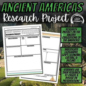 Ancient Americas (Mesoamerica) Research Project