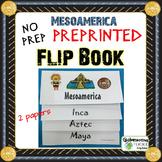 Mesoamerica Flip Book Pre-printed (Maya, Inca, Aztec)