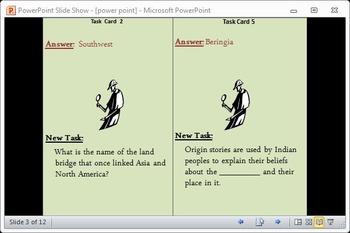 Ancient Americas Scavenger Hunt